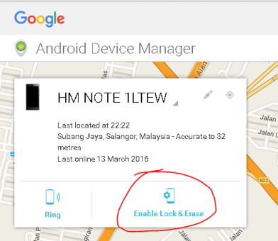 Track Your Lost Phone Using Google Web Site Or Android Device