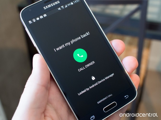 Track your lost phone using Google web site or Android Device Manager